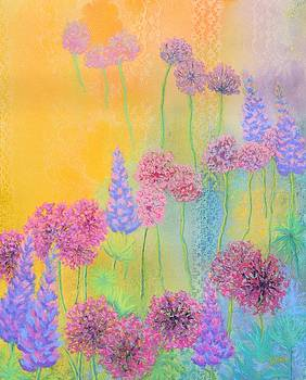 Flowers and Lace by Nancy Jolley