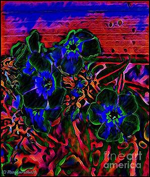 Flowers At Midnight by MaryLee Parker