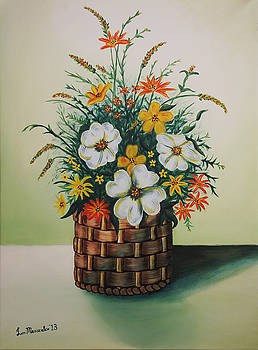 Flowers Basket by Iven Maniscalco