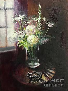 Flowers By The Window by Yoshiko Mishina