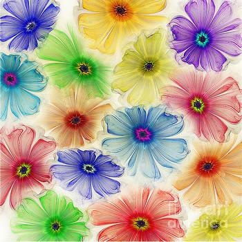 Flowers for Eternity by Klara Acel
