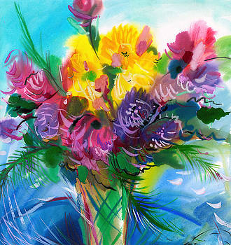 Flowers For My Jesus by Karen Showell
