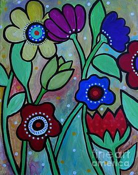 PRISTINE CARTERA TURKUS - FLOWERS IN SPRING