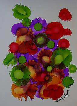 Flowers of paradise # 66 by Sima Amid Wewetzer
