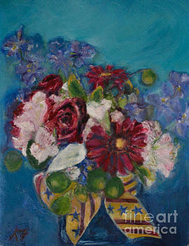 Flowers of Remembrance by Karen Francis