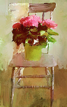 Flowers on a Chair by Jeff Oates Photography