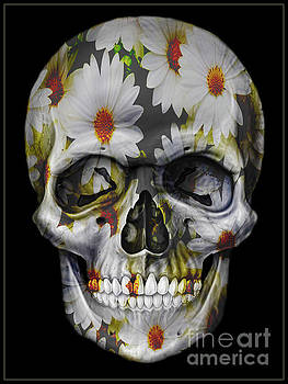 Flowers Skull by Christos Koudellaris
