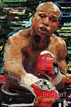 Floyd Mayweather by Max Cooper