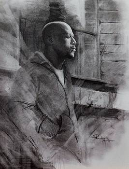 Reflections of Floyd Mayweather by Noe Peralez
