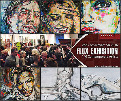 Flux Exhibition in London by Christel Roelandt