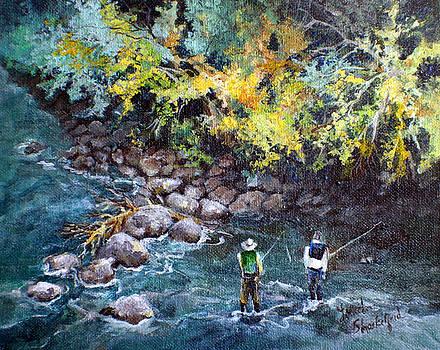 Fly Fishing by Linda Shackelford