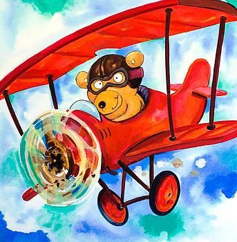 Flying Bear by Scott Nelson