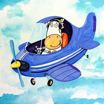 Flying Cow by Scott Nelson