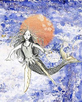 Flying Mermaid by Sarah Kovin Snyder