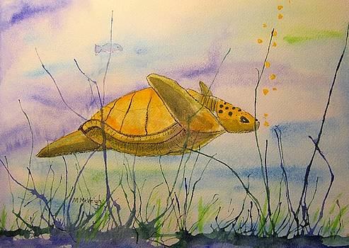 Flying Through The Sea by Marita McVeigh