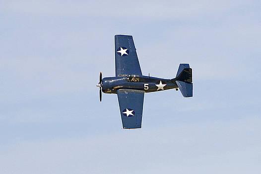 FM-2P Wildcat in Flight by Shoal Hollingsworth