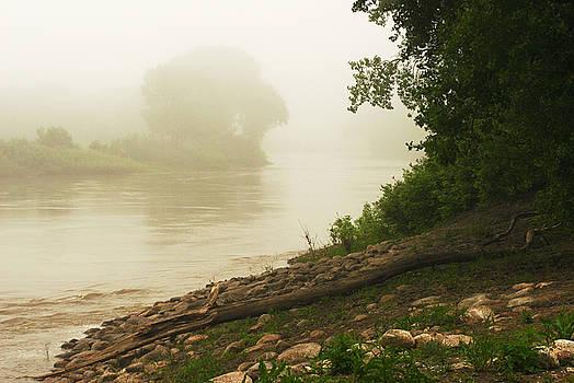 Fog along the Red by Steve Augustin