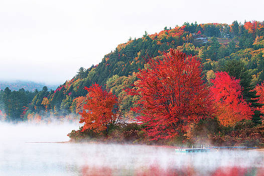 Fog Over Crystal Lake by Eric Gendron