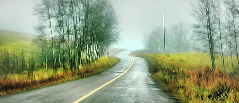 Fog Up By Pinantan Lake by Theresa Tahara