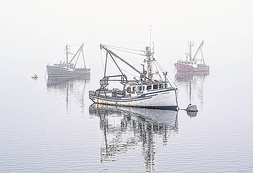 Foggy Morning Downtime by Marty Saccone