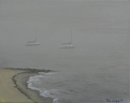 PAUL WALSH - FOGGY SHORE