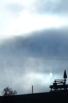 Foggy Sunrise-3 by Rich Caperton