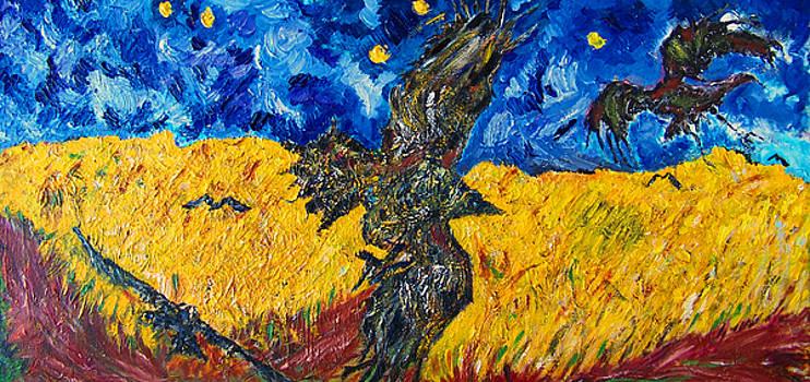 Following Van Gogh by Azul Fam