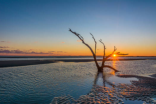 Folly Sunset by Riddhish Chakraborty
