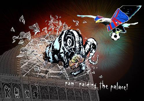 Miki De Goodaboom - Football Derby Rams against Crystal Palace Eagles