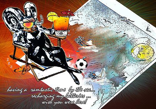 Miki De Goodaboom - Football Derby Rams on holidays by the sea