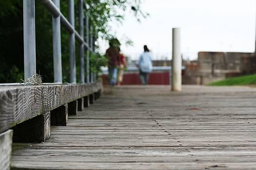 Footbridge by David S Reynolds