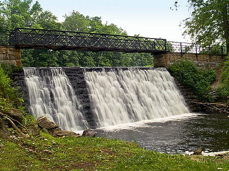 Footbridge Falls by Andrew Kazmierski