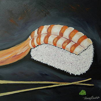 For the love of sushi by Tracey Bautista