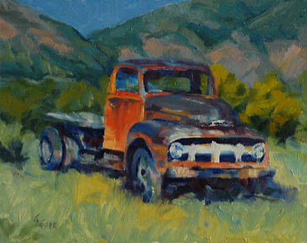 Ford Flatbed by Gary Gore