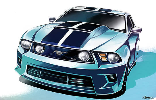 Ford Mustang 5.0 by Uli Gonzalez