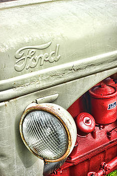 Ford Tractor by Vicki McLead
