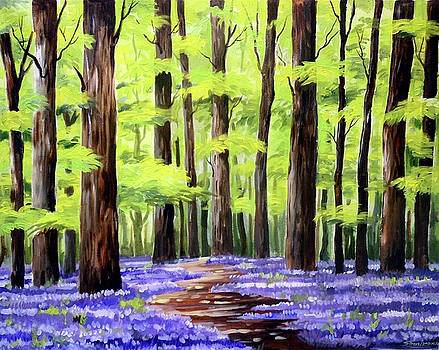 Forest and Garden by Samiran Sarkar