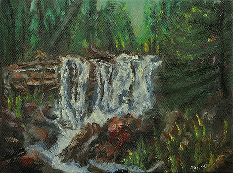 Forest Falls by Keith Zudell
