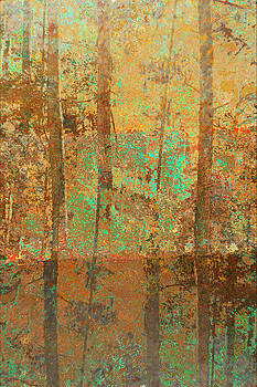 Forest Morning Light Brown by Suzanne Powers