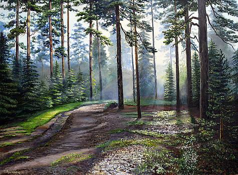 Forest sielence by Sergey Lutsenko
