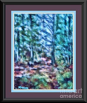 Forest Thru the Trees by Shirley Moravec