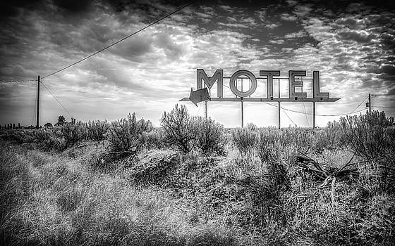 Forgotten Motel Sign by Spencer McDonald