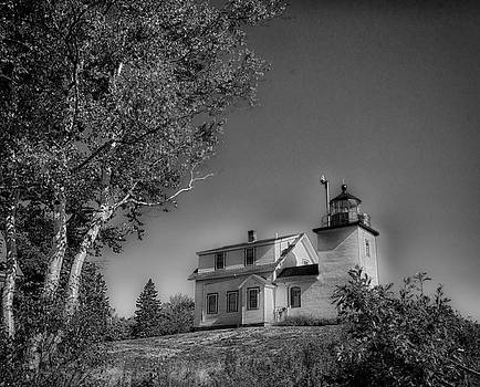Fort Point Lighthouse by Sherman Perry