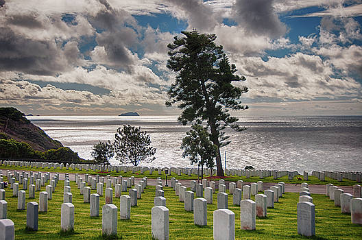 Fort Rosecrans National Cemetery - San Diego - California by Bruce Friedman