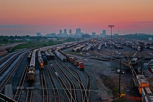 Fort Worth Trainyards by Linda Unger