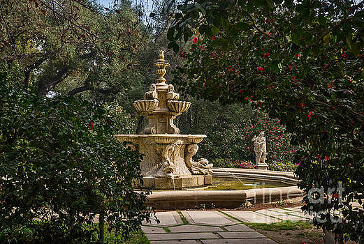 Jamie Pham - Fountain Beyond the Trees