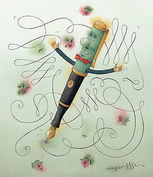 Kestutis Kasparavicius - Fountain-Pen