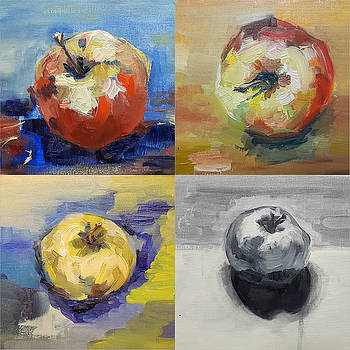 Four Apples A Day by Christel Roelandt