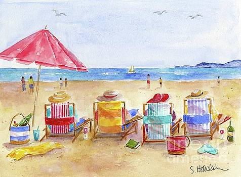 Four Beach Amigos by Sheryl Heatherly Hawkins