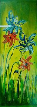 Xafira Mendonsa - Four Flowers